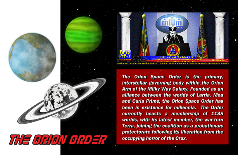 25 THE ORION ORDER